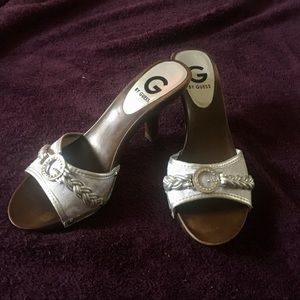 Guess Shoes Silver